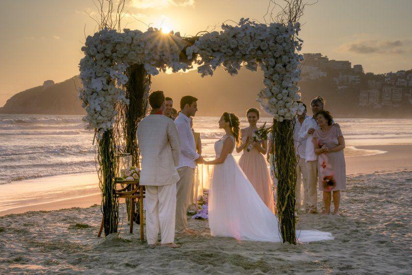 destination wedding movie scene