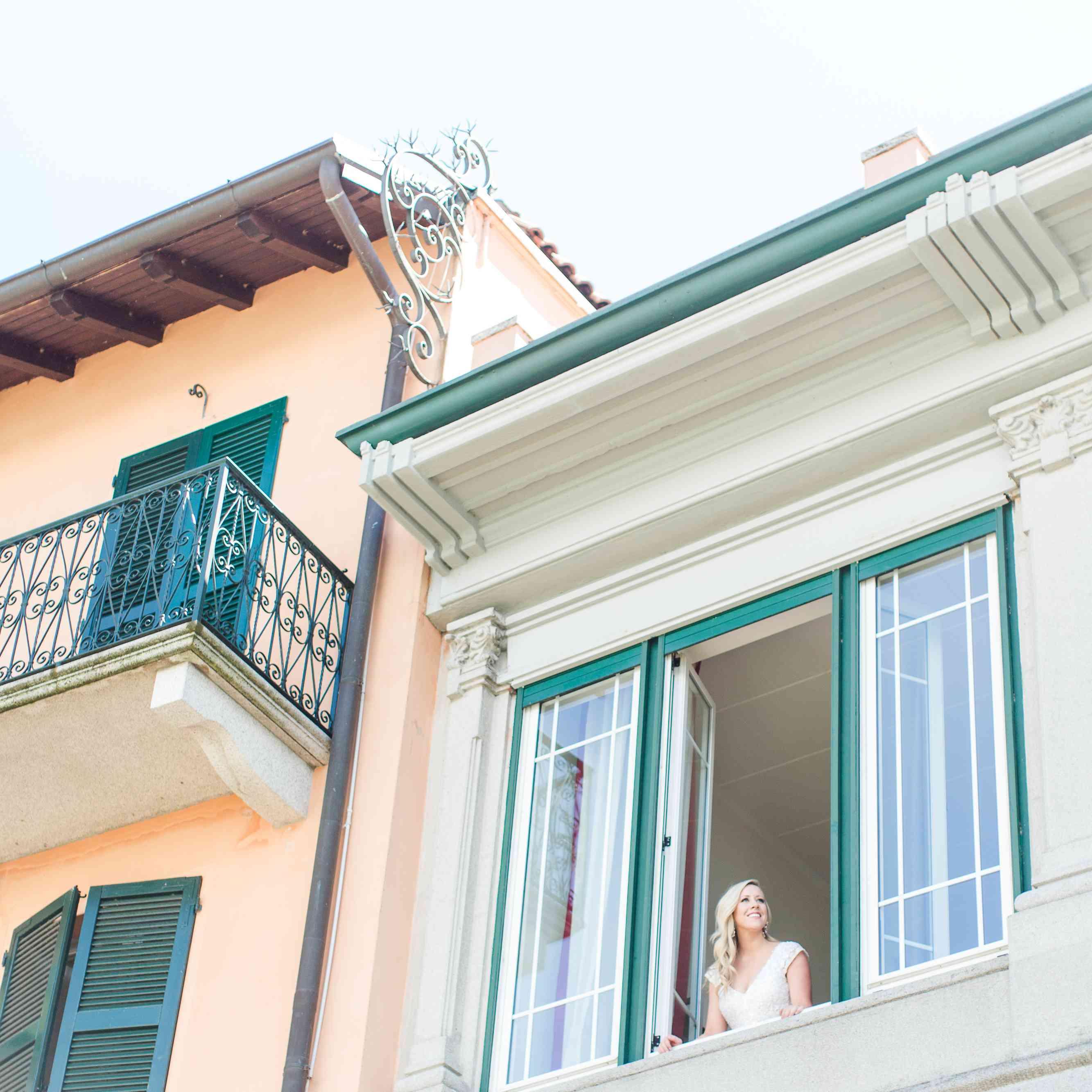 <p>Bride in window</p><br><br>