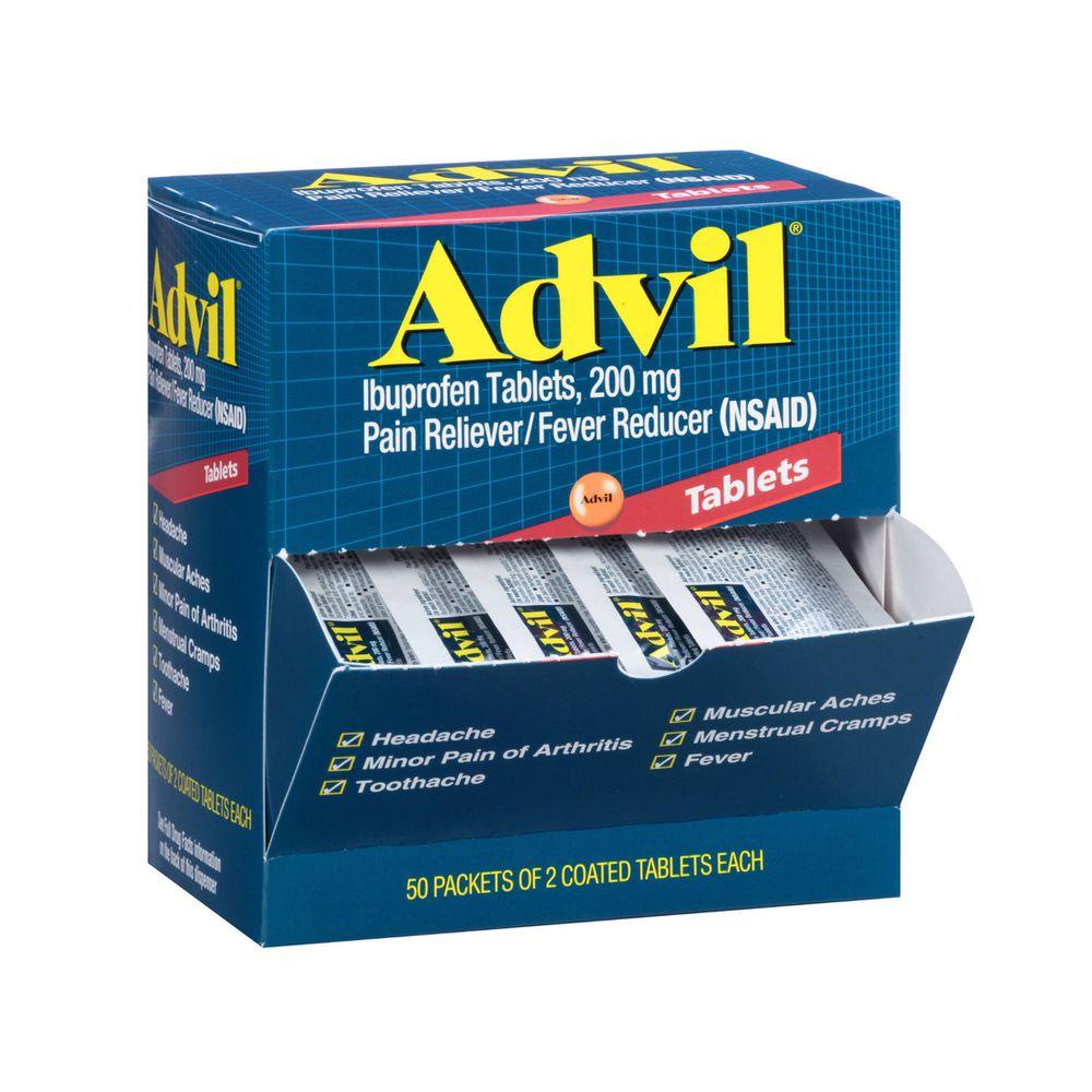Advil Ibuprofen Coated Tablets