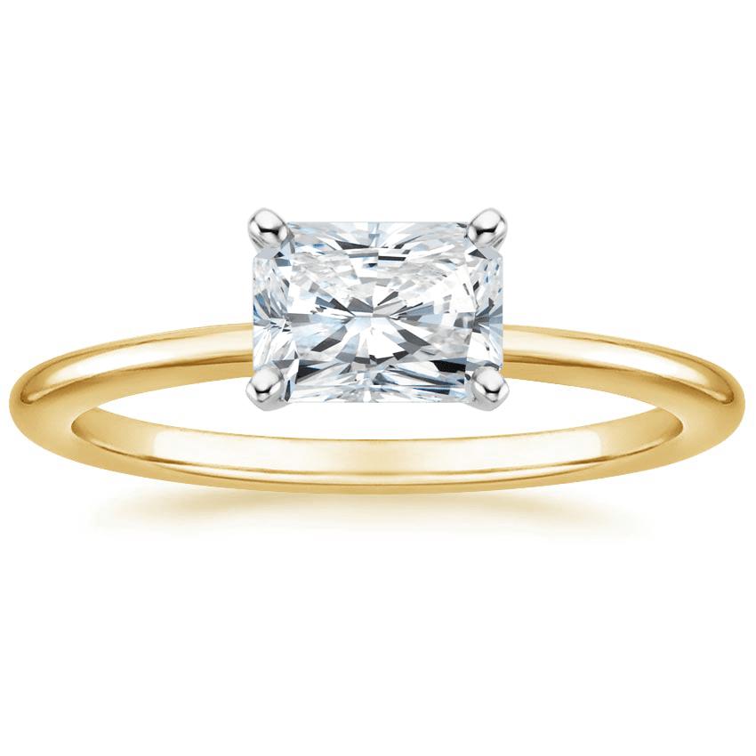 Gold Radiant Ring