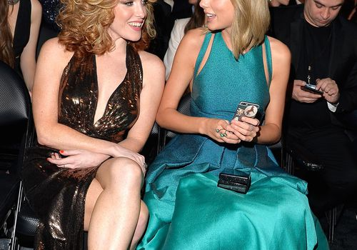 Taylor Swift and Abigail Anderson