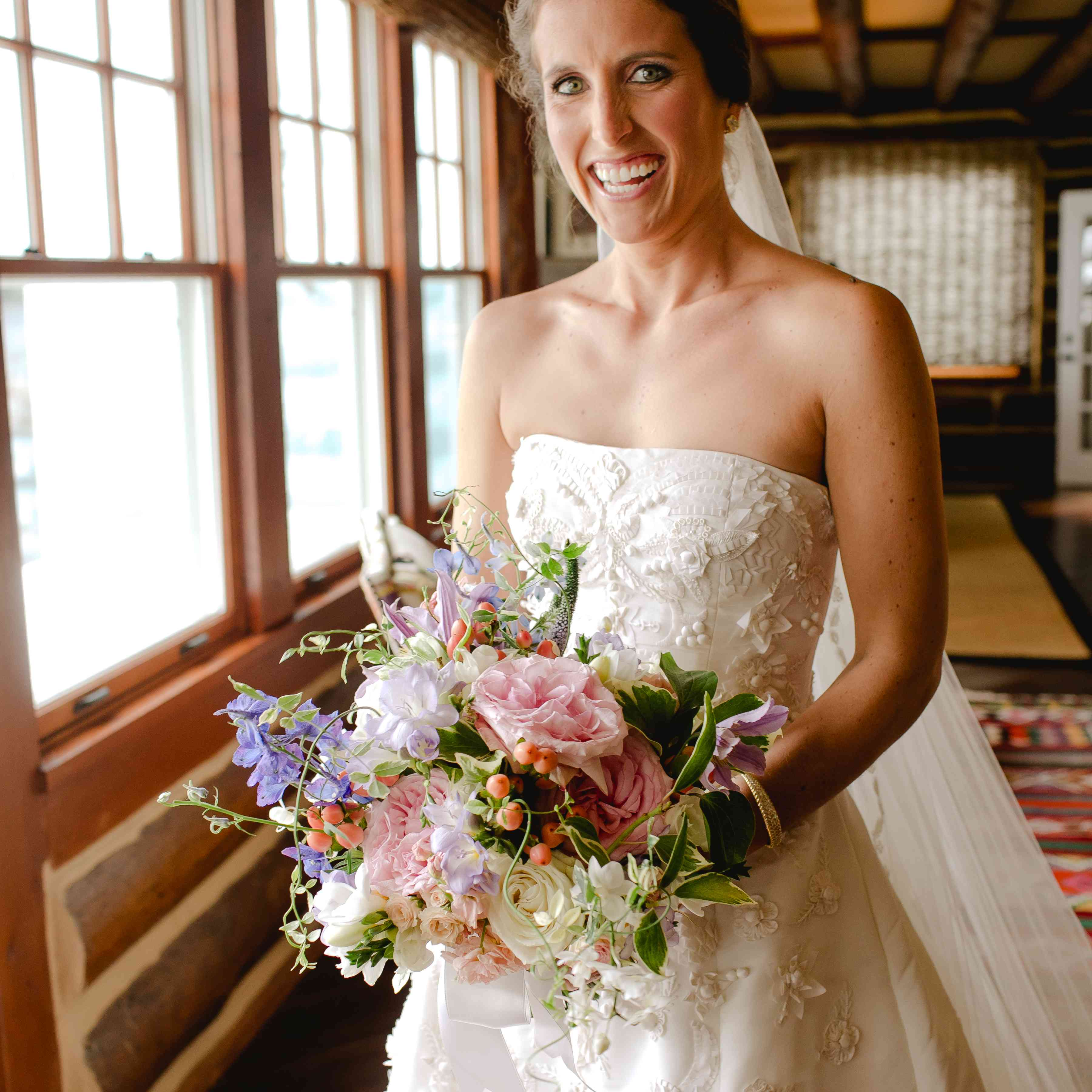 bride bridal bouquet