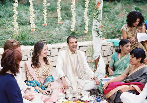 <p>Multicultural Indian Wedding</p>