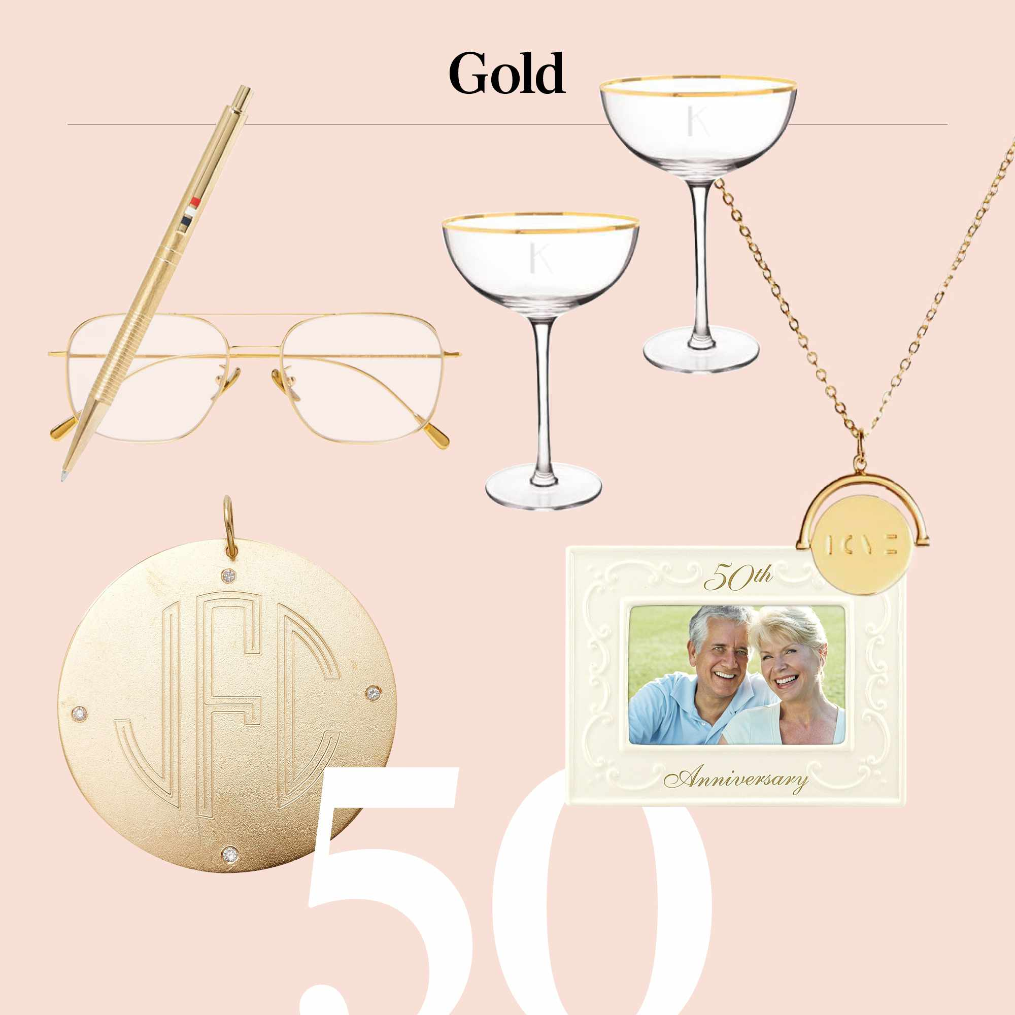 54 Wedding Anniversary Gifts by Year for Him, Her, and Them