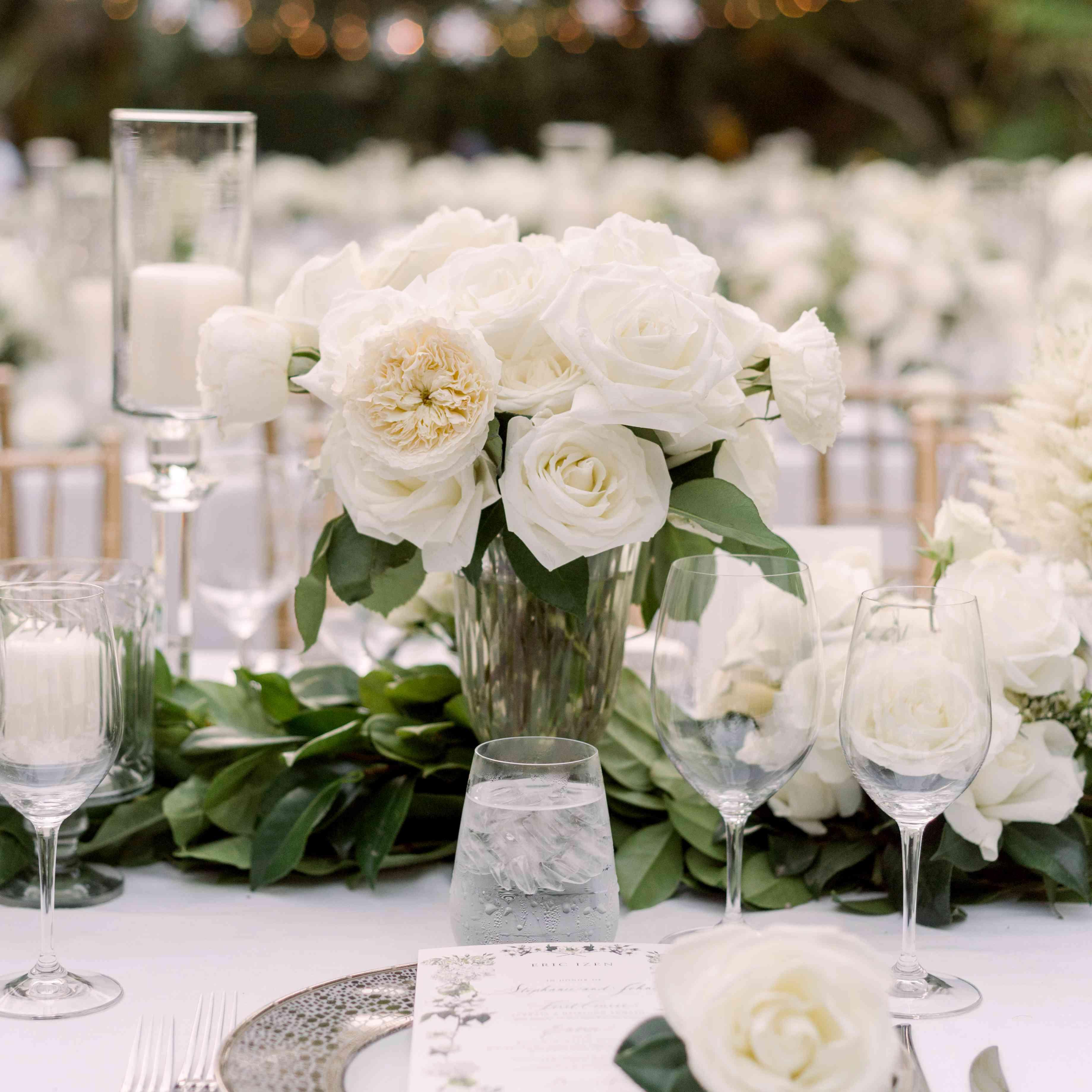 reception tablee