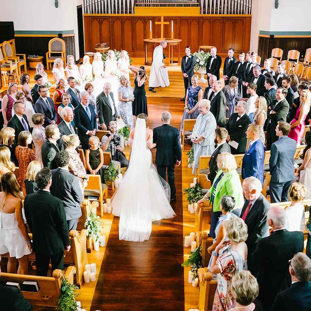 <p>bride walking down aisle</p><br><br>