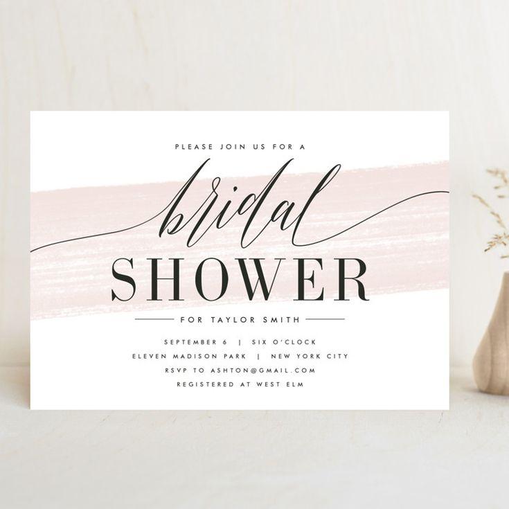 Garden Bridal Brunch Shower Invitation BS38 OR Baby Shower