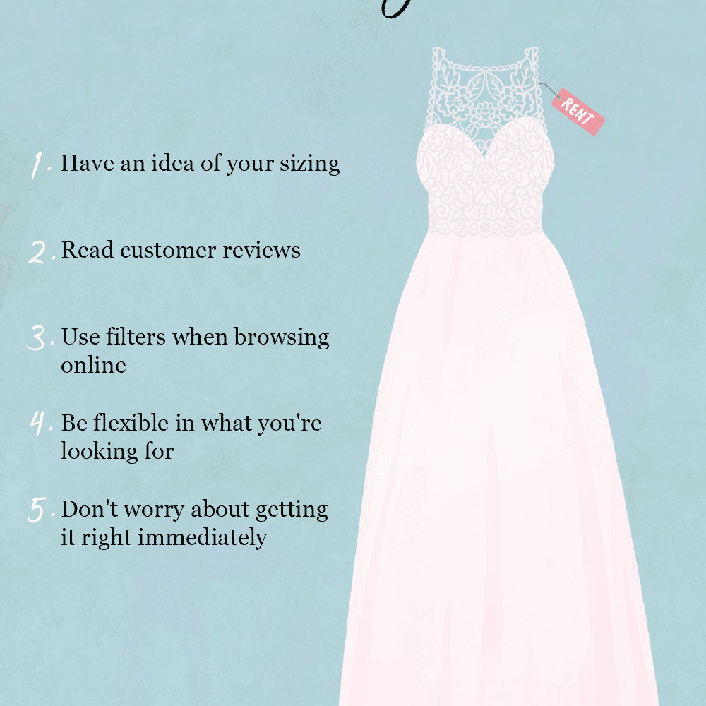 Where And How To Rent A Wedding Dress
