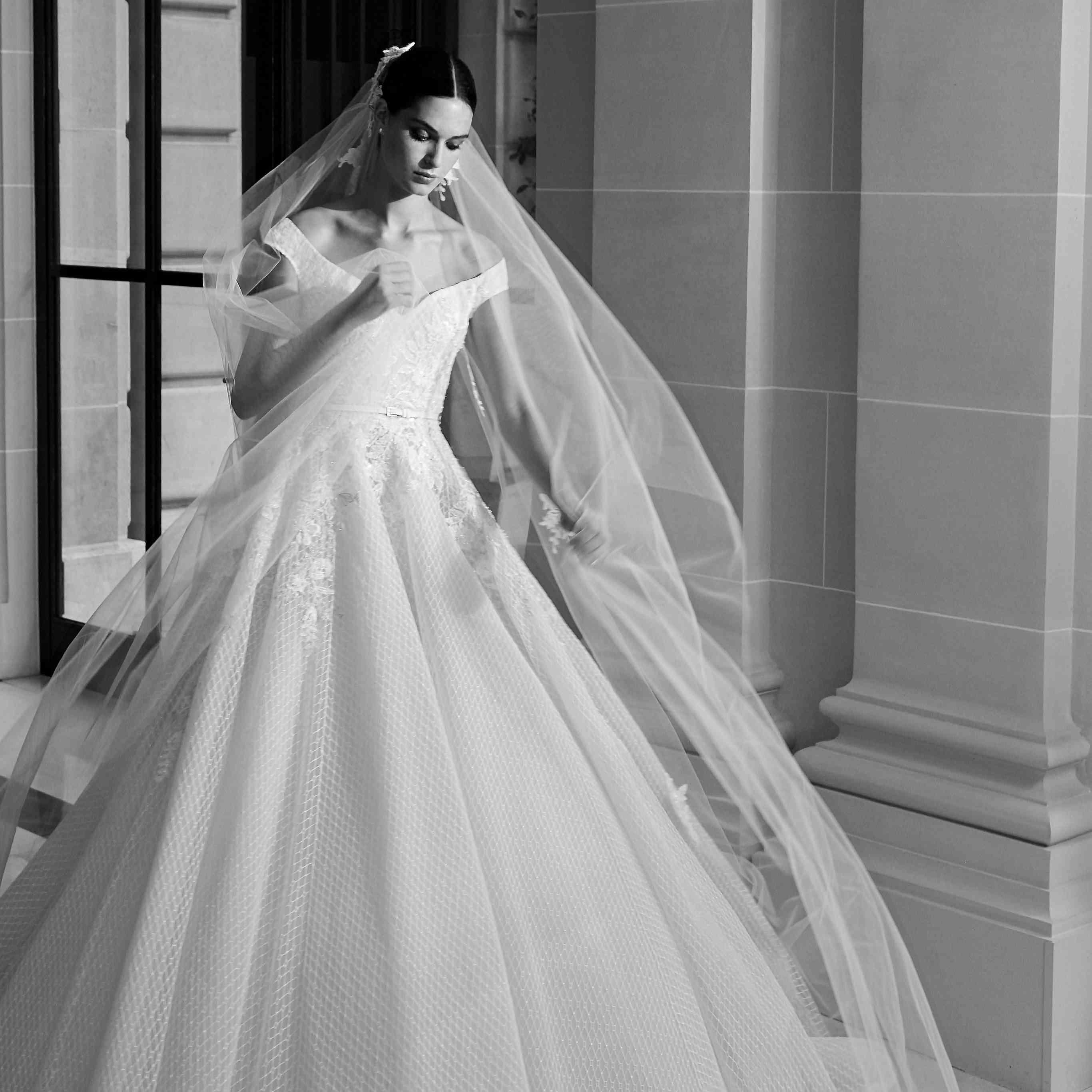 Elie Saab Wedding Dresses.Elie Saab Bridal Fall 2019