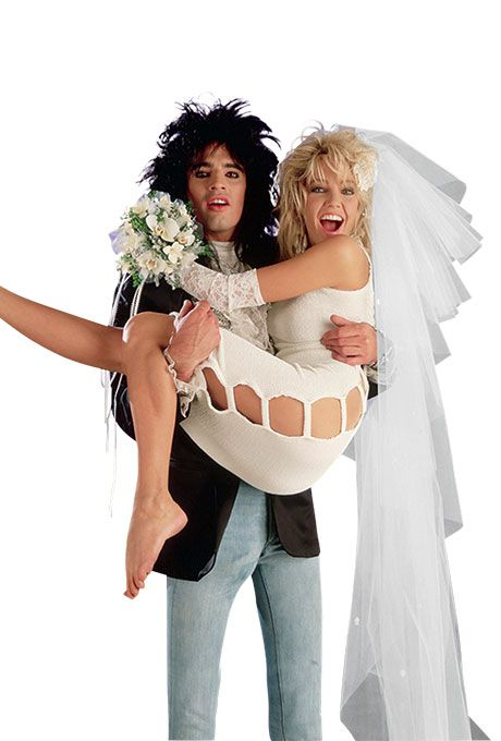 Heather Locklear marries Tommy Lee, 1986