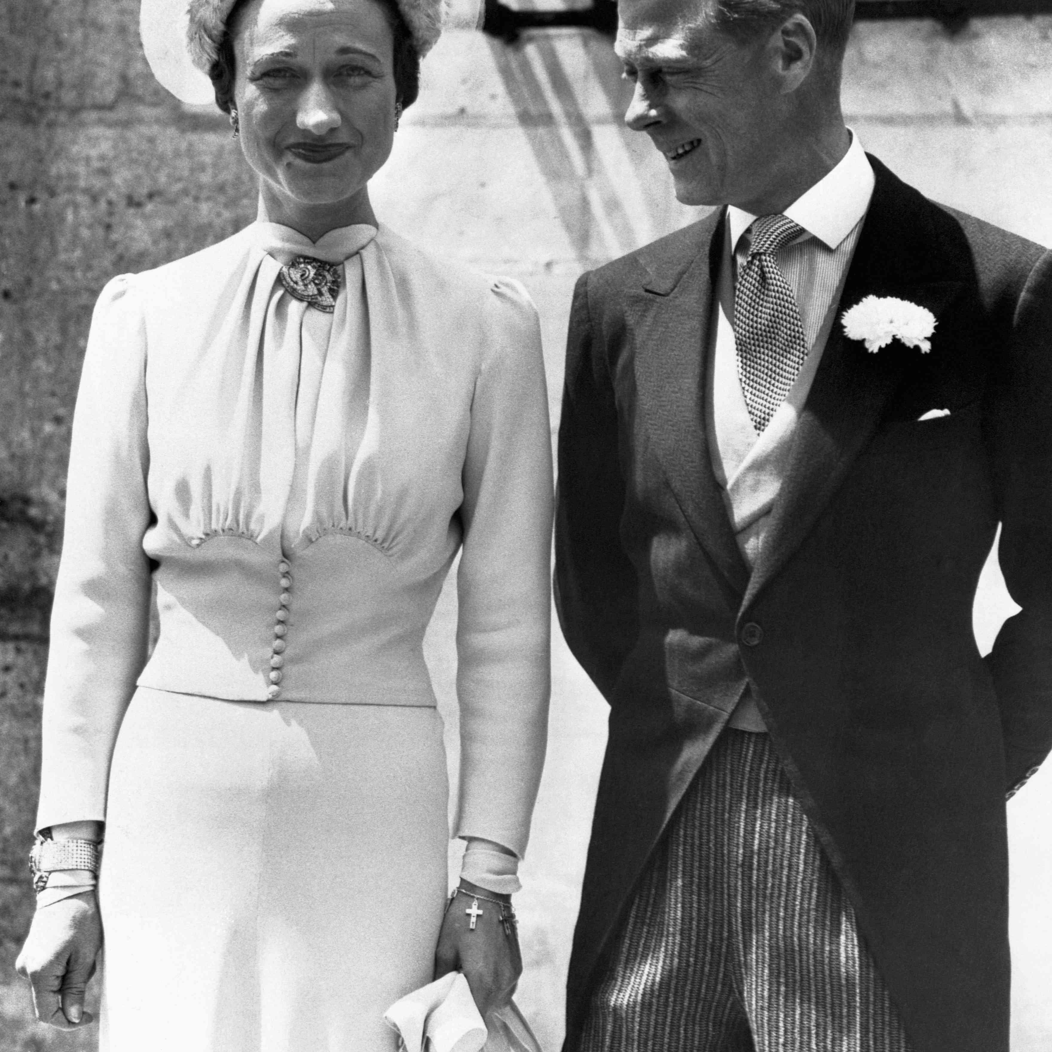 Wallis Simpson and King Edward VII