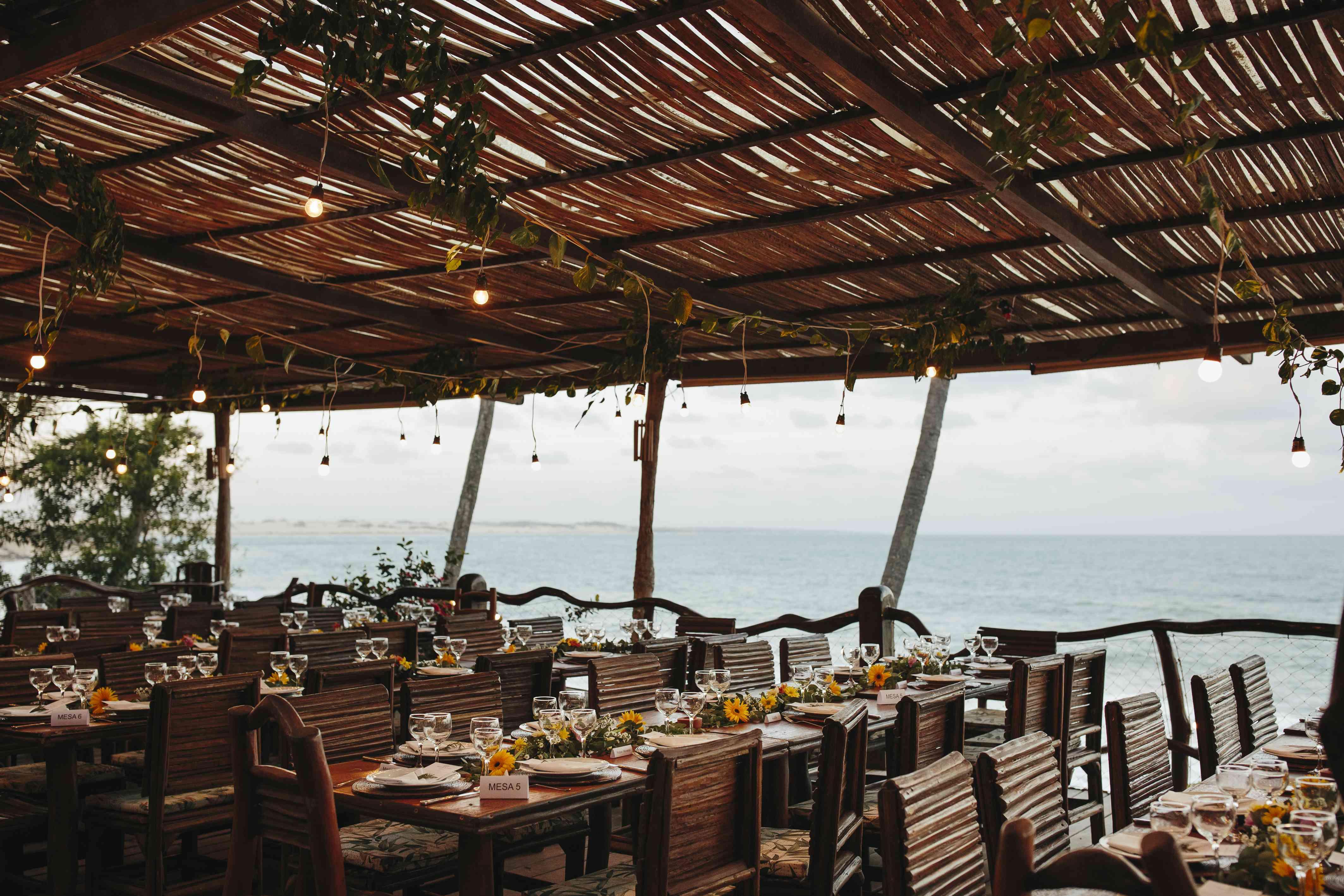 reception tablescapes