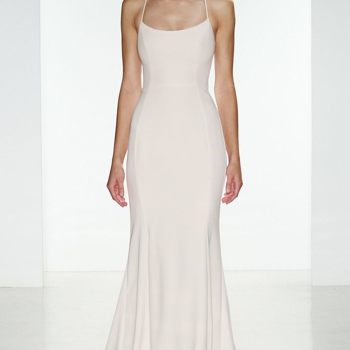 The 30 Best Slip Wedding Dresses Of 2020,Can You Add A Train To A Wedding Dress