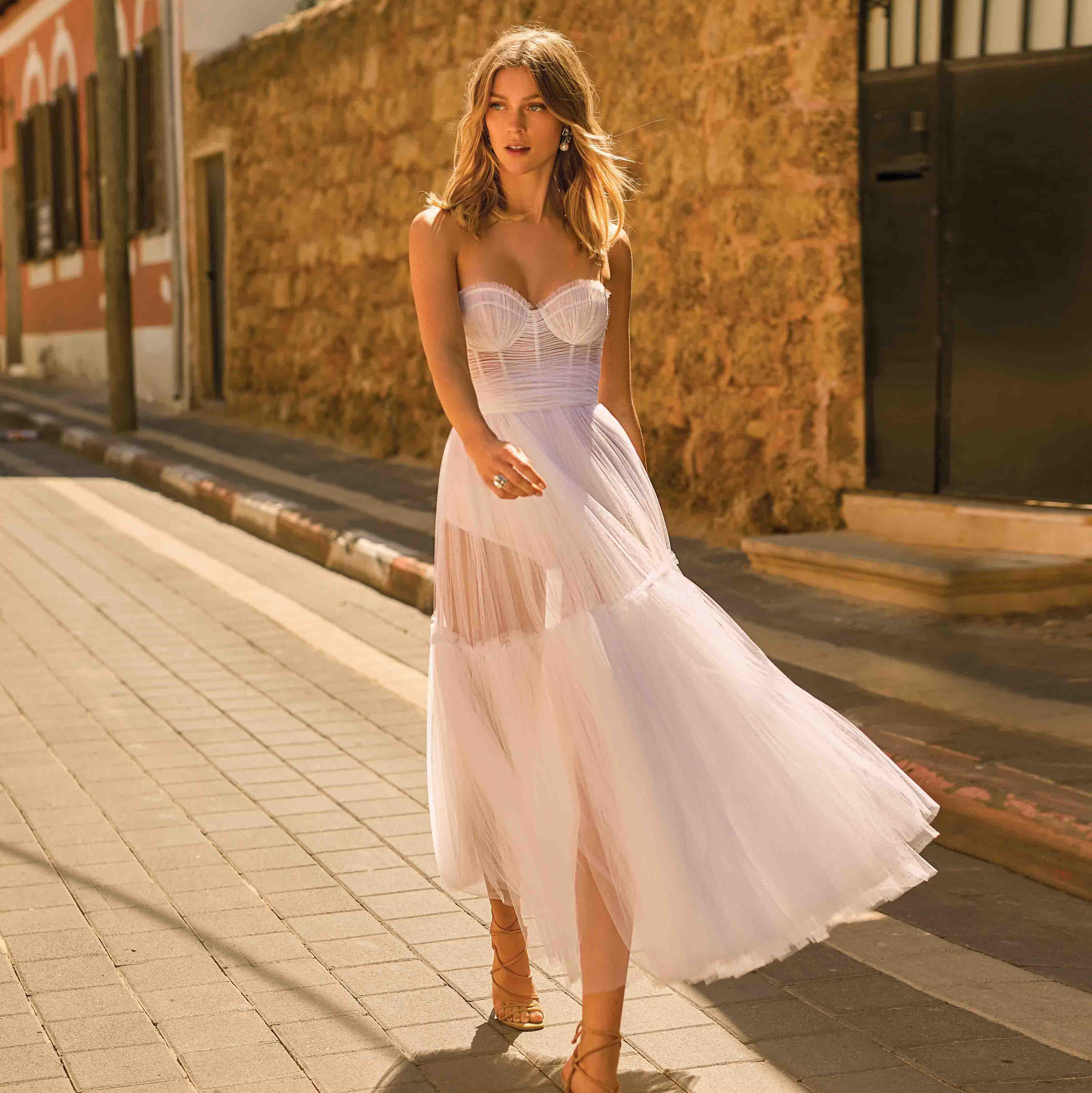 26 Tea Length Wedding Dresses