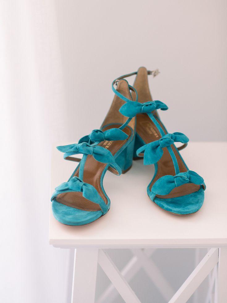 Azuree Black /& Gold Block Heels