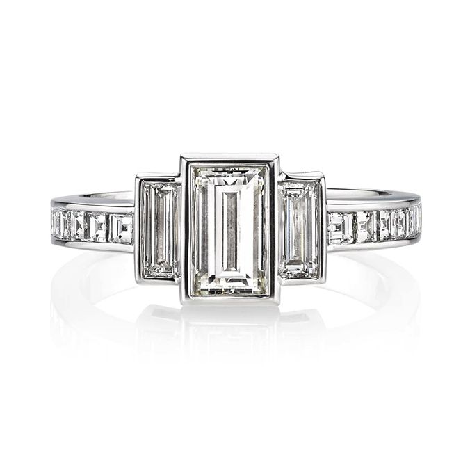 Single Stone Lisa Ring