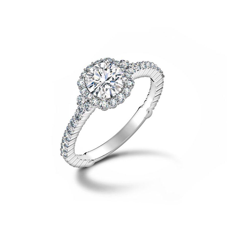 Forevermark White Gold Diamond Engagement Ring
