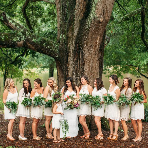 Yes, It's Okay To Have An Uneven Bridal Party (Just Follow