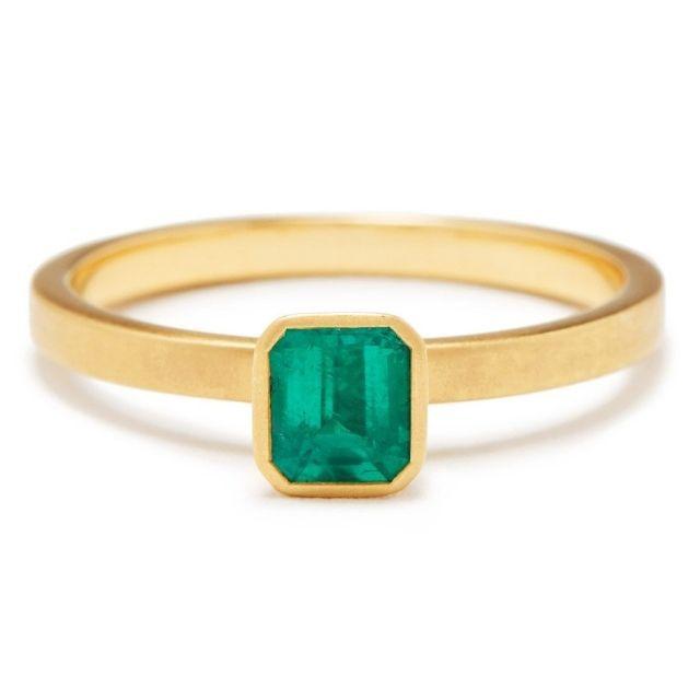 Greenwich Jewelers Emerald Yum Drop Ring