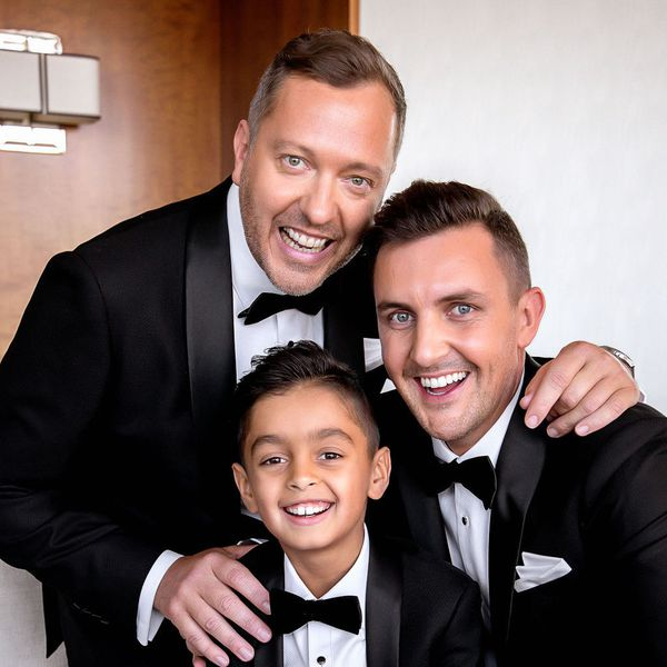 grooms and son