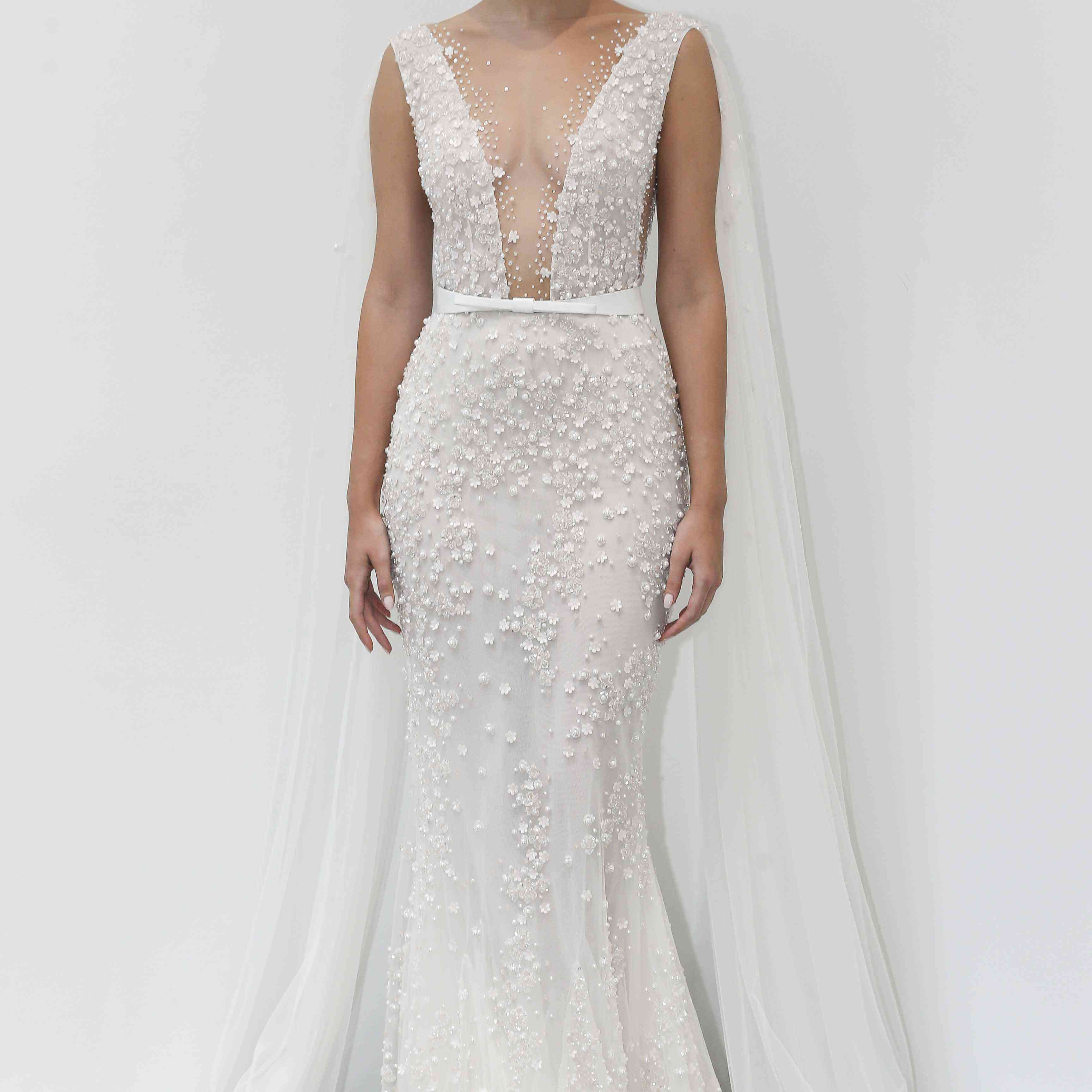 Magnolia sleeveless wedding dress