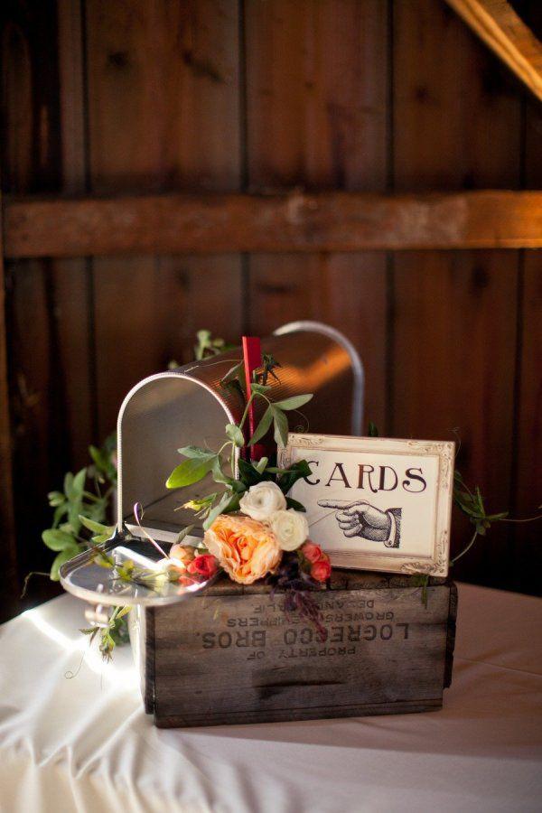 <p>Mailbox Wedding Card Box</p>