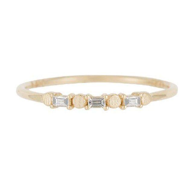 baguette ring