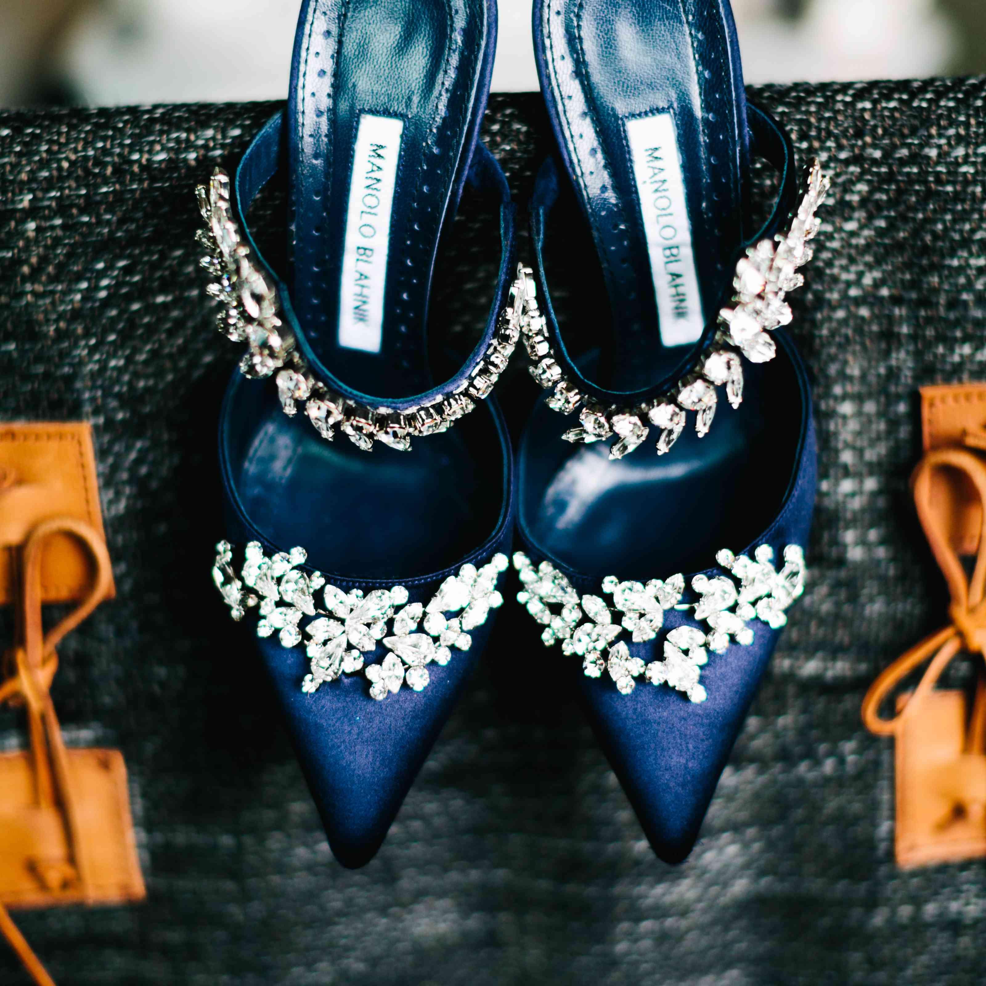 Bride Manolo Blahnik Shoes
