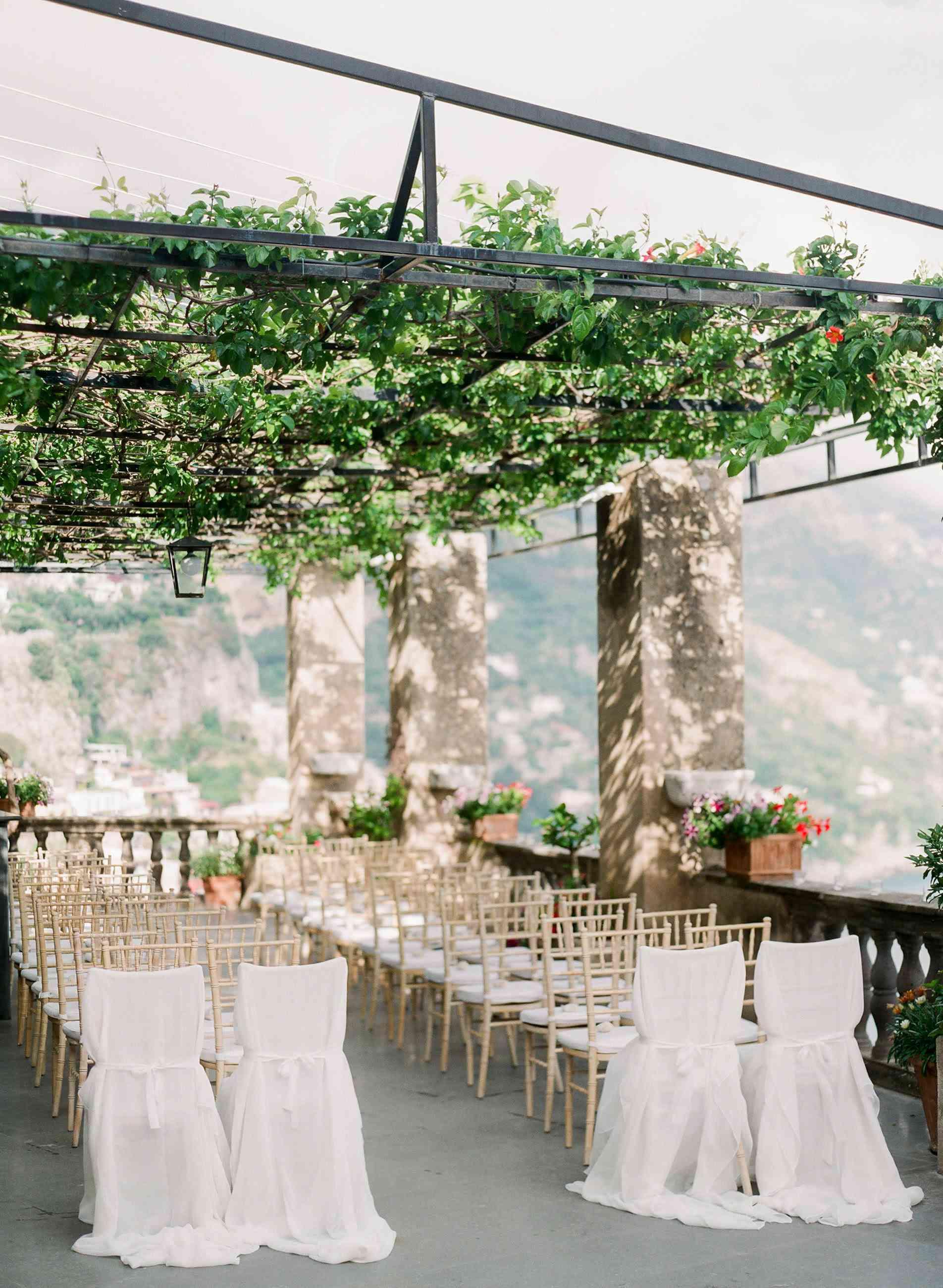 Wedding ceremony on the Amalfi Coast