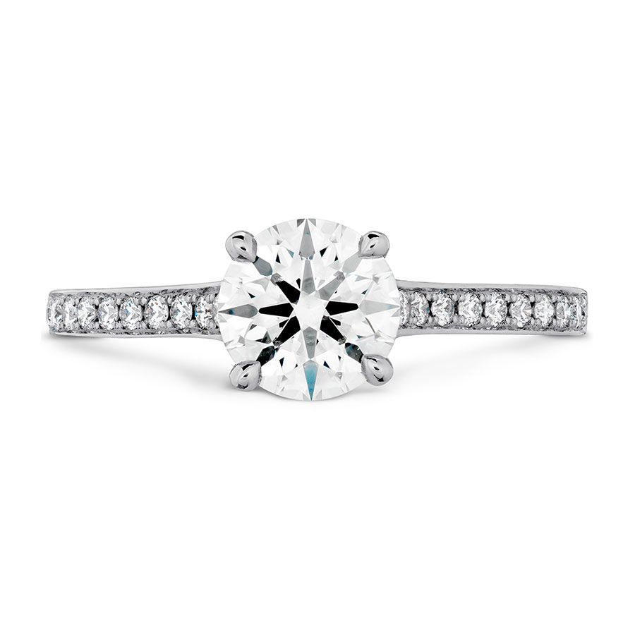 Hearts on Fire Diamond Engagement Ring