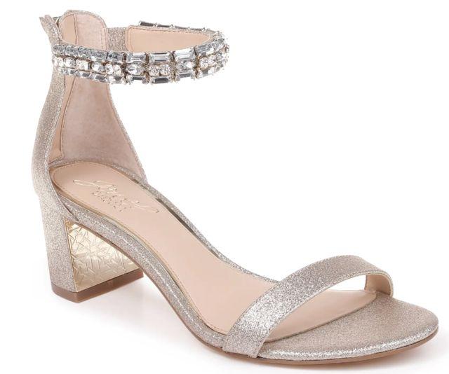 Jewel Badgley Mischka Katerina Ankle Strap Sandal
