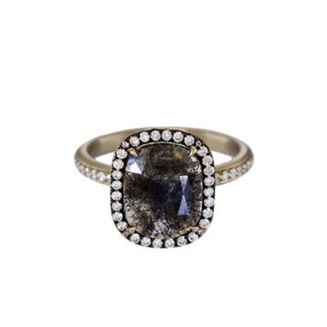16 Black Diamond Engagement Rings