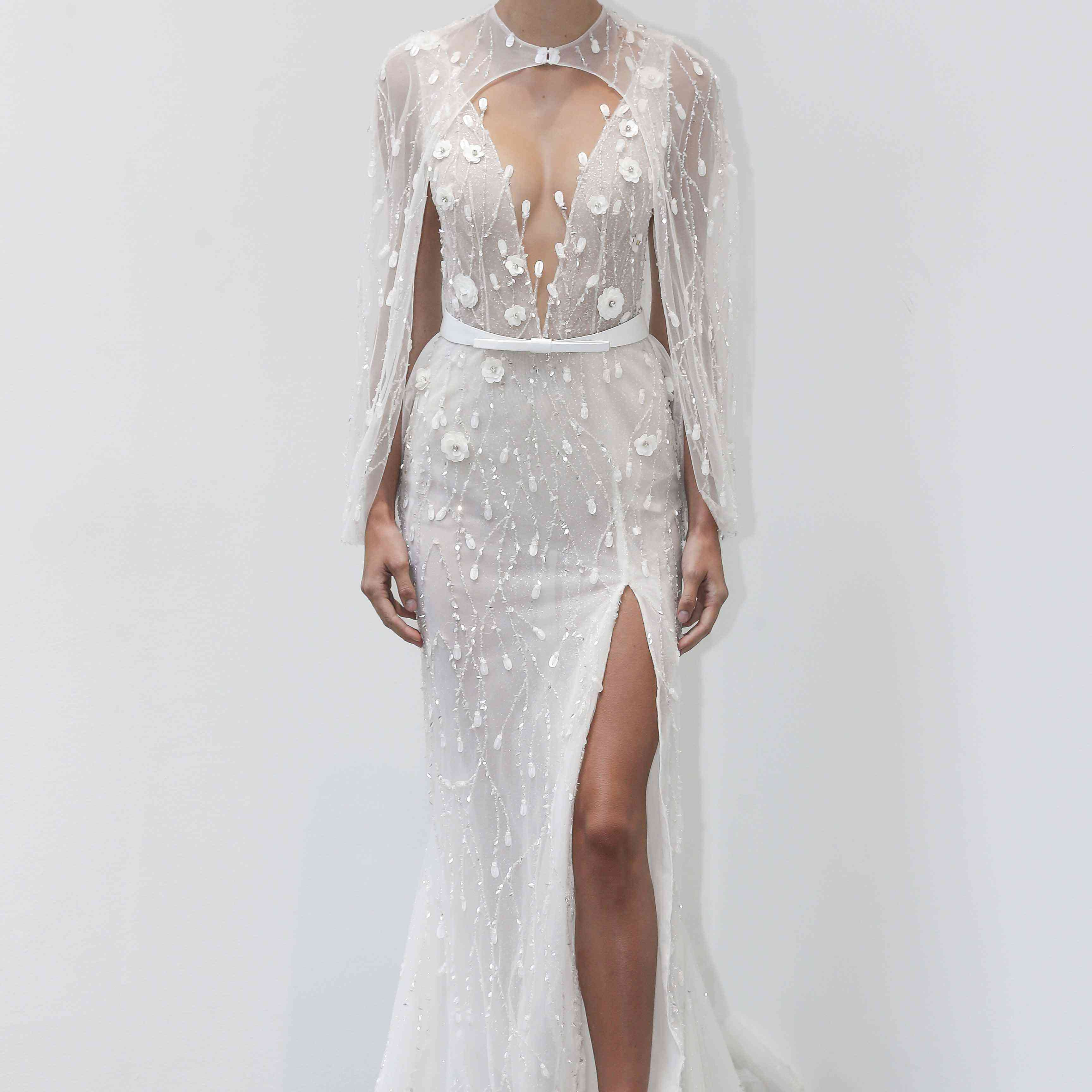 Mia sleeveless wedding dress