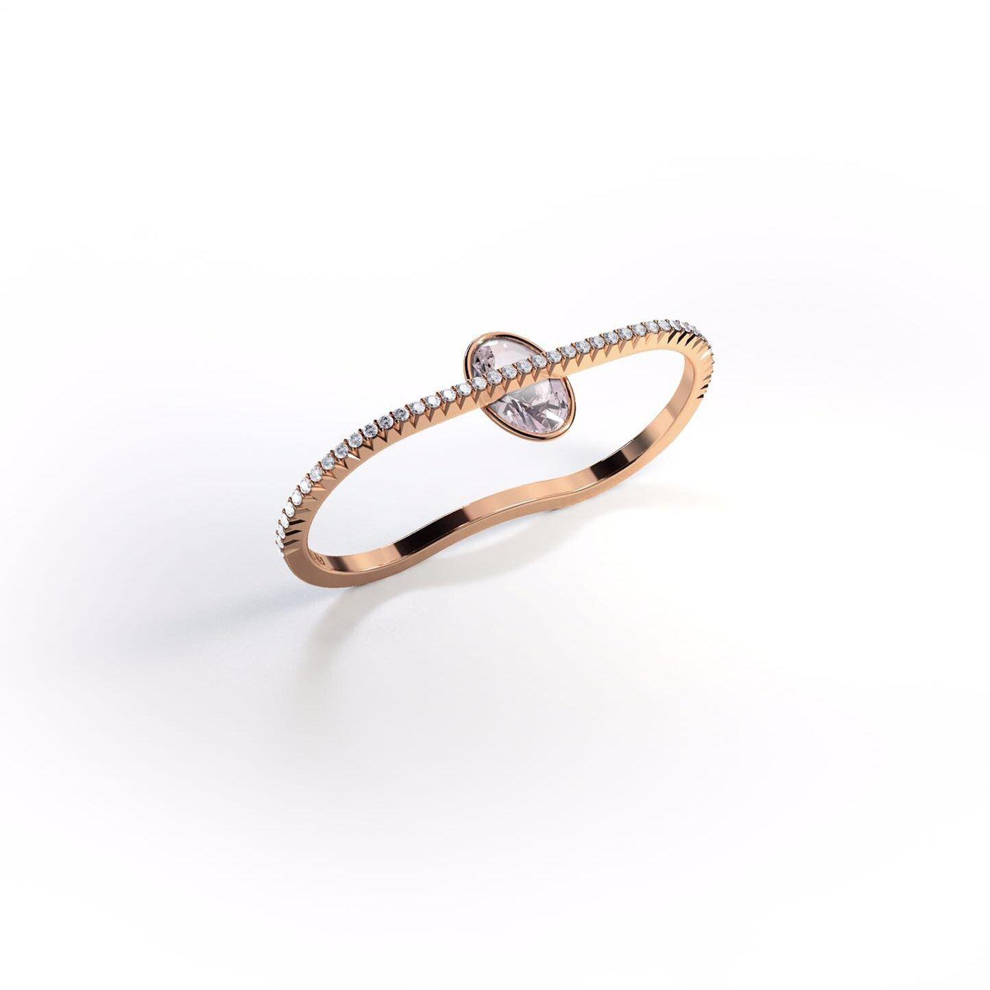 Jessie V E Femme Fatale 'Enchantress' Ring