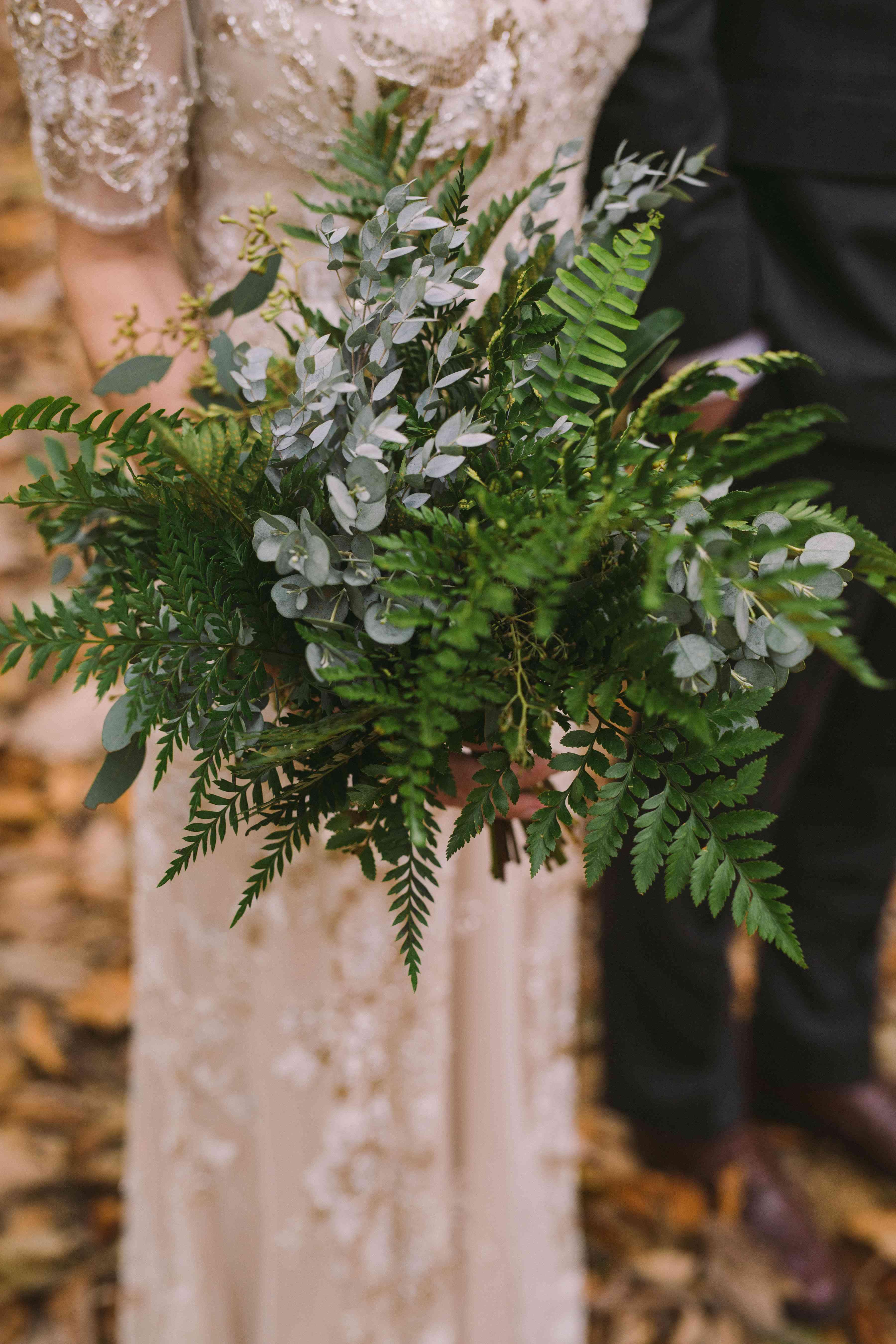 bouquet of ferns
