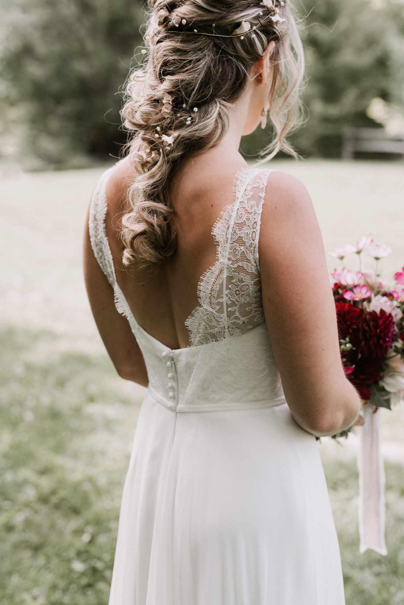Embellished Undone Braid