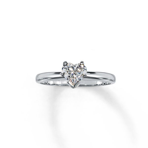 Heart Shaped Diamond Engagement Rings The Complete Guide