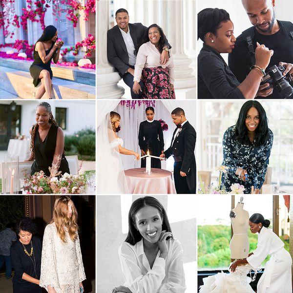 black wedding pros