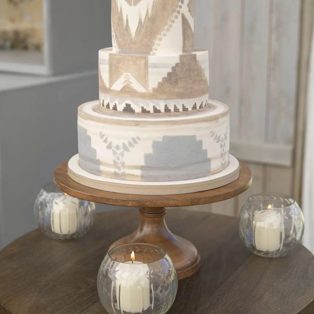 western textile cake