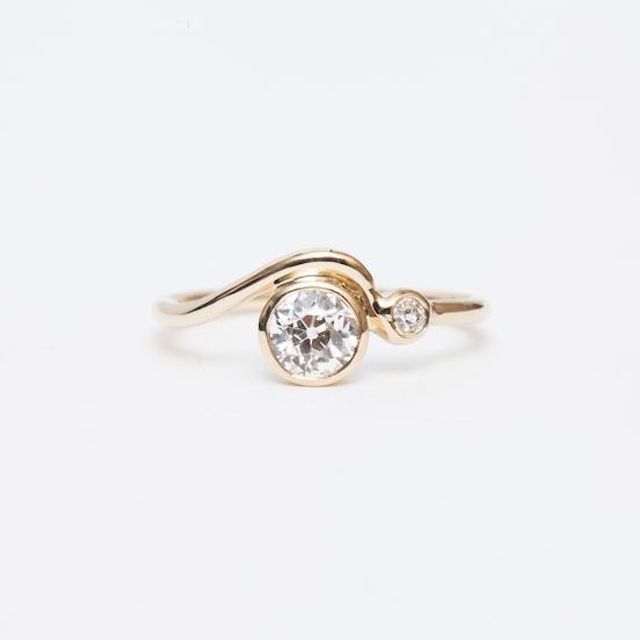 M. Hisae Old European Masumi Ring