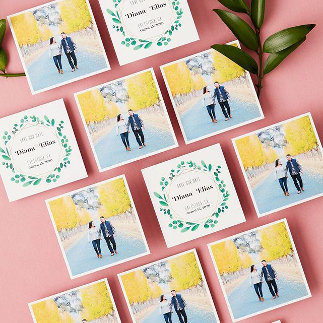Social Print Studio Double Sided Square Prints