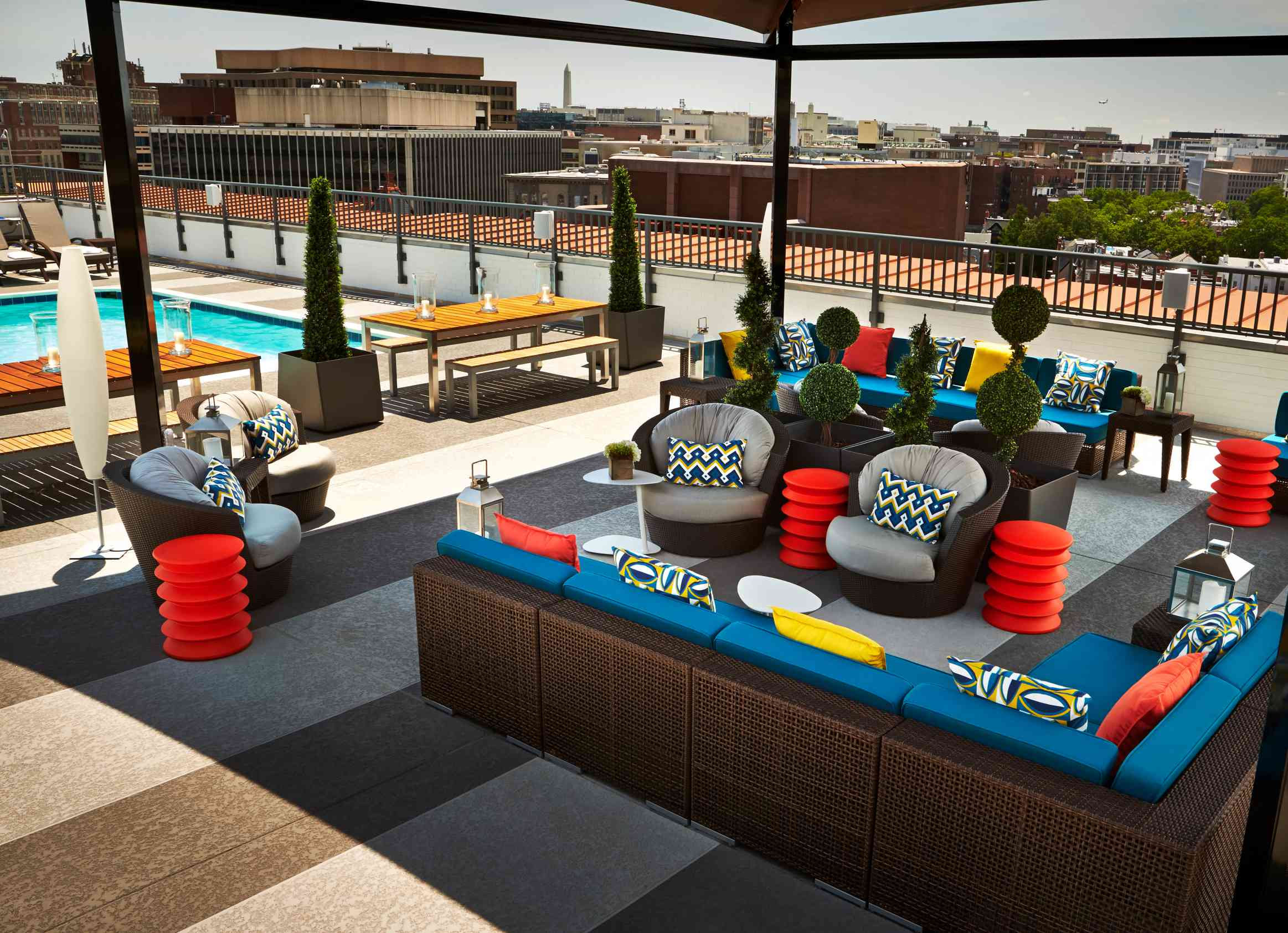 The Embassy Row Hotel D.C. rooftop