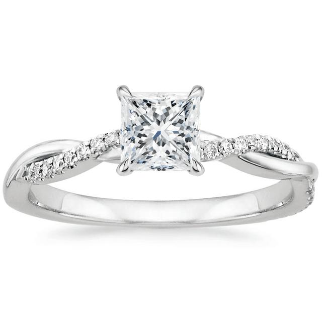 Brilliant Earth Princess Cut Ring