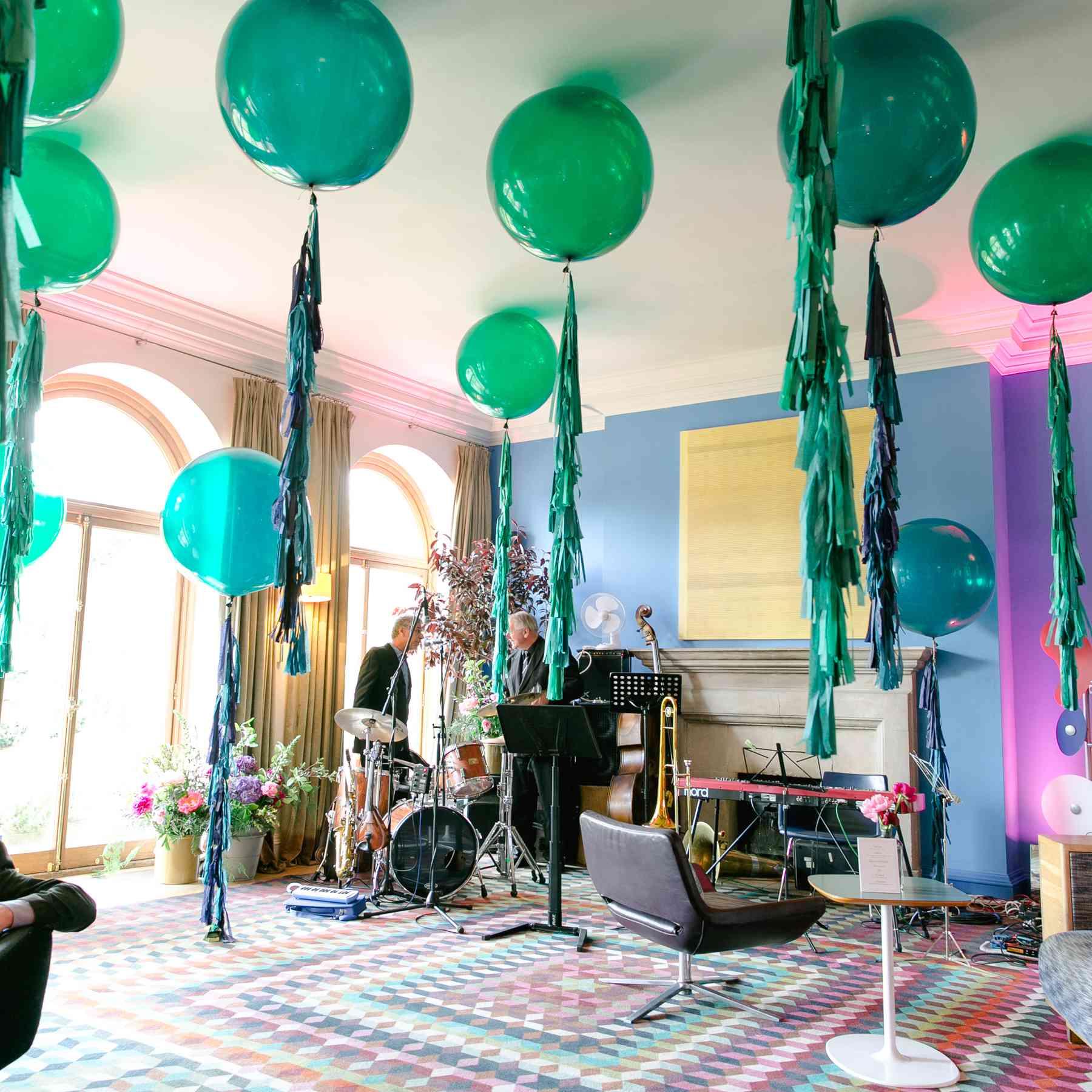 Balloons at Reception