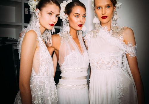 Naeem Khan Fall 2018 Bridal Fashion Week