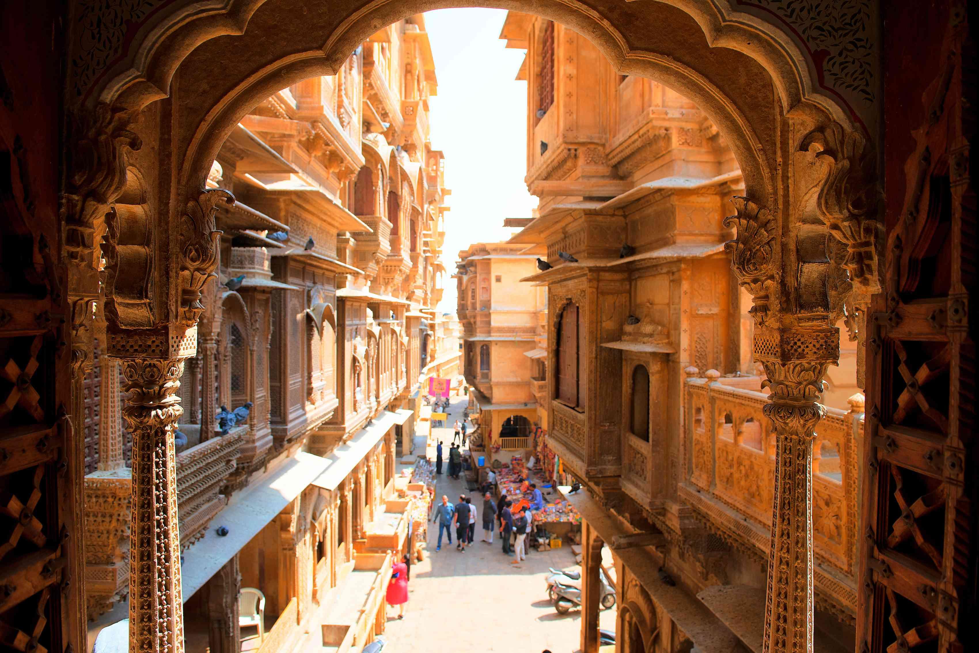 street in India