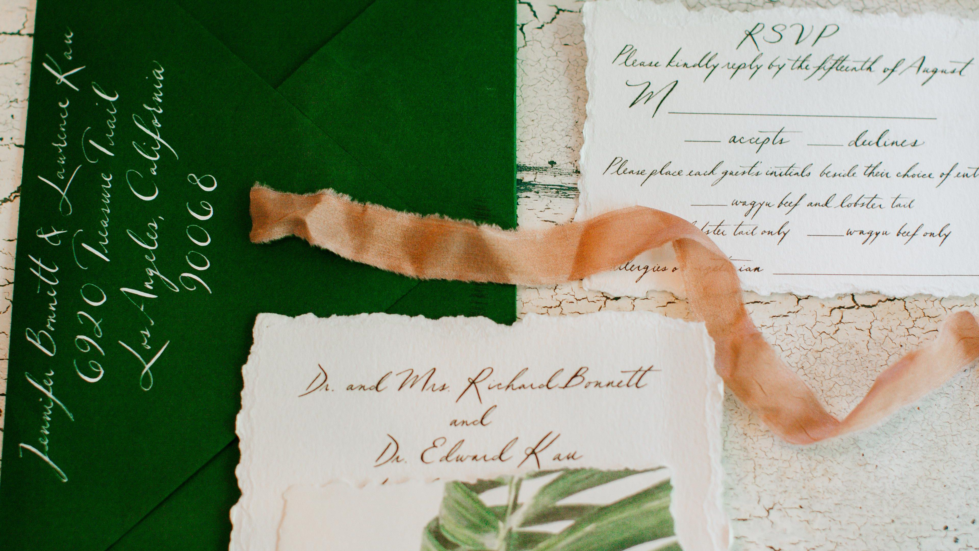 The Top 5 Wedding Invitation Etiquette Mistakes, According to Pros