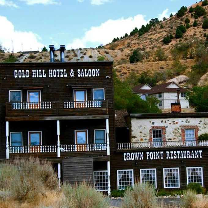 It is fair to say there are plenty of haunts around the 19th century mining town of Virginia City, Nevada. But the most haunted spot may likely be Gold Hill Saloon — a fantastic venue right in the heart of Main Street. The spooky spot sits in front of what was the Yellow Jacket mine, which is now the crypt of 37 miners who were killed in a fire in 1873. Their bodies were left buried at the bottom. One of those miners, William, lives in room 5 and you might just smell his cherry pie tobacco. But the most popular spot for the ghosts of Yellow Jacket to hang out is in the Saloon's great room, where visitors have seen apparitions around the bar