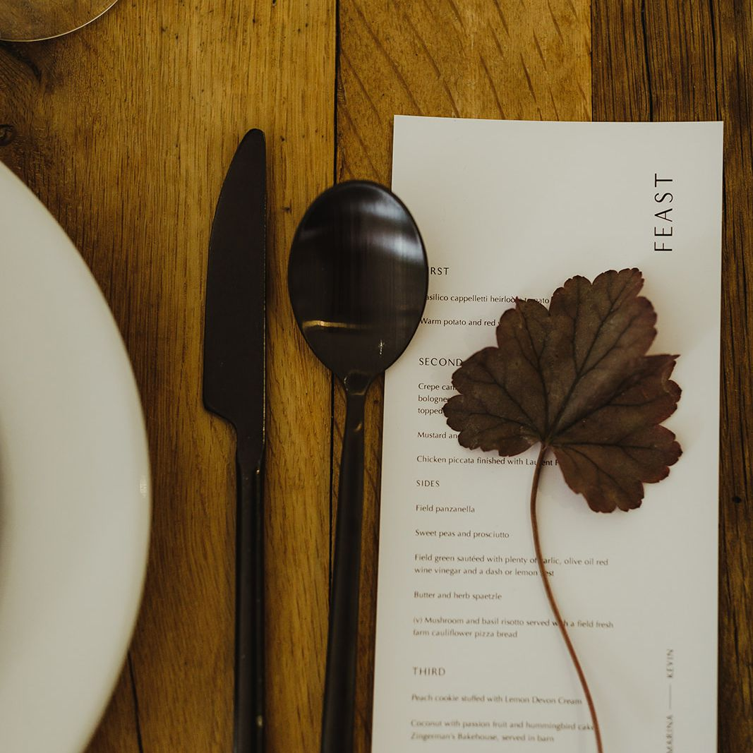 <p>dinner menu</p><br><br>