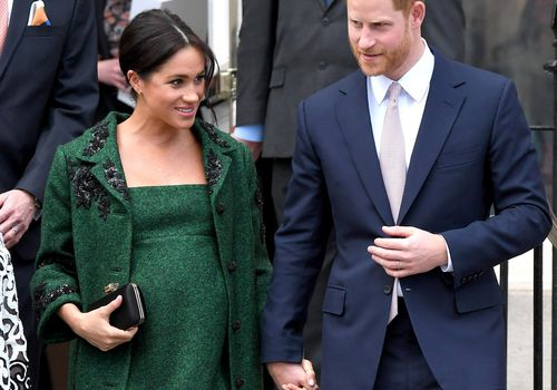 Prince Harry, Duke of Sussex and Meghan, Duchess Of Sussex attend a Commonwealth Day Youth Event